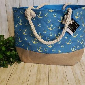 New! Anchor Tote Bag